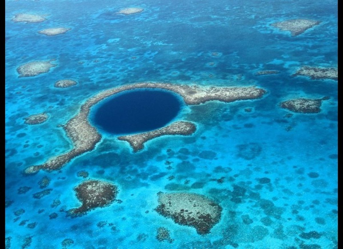 <strong>BELIZE BARRIER REEF RESERVE SYSTEM</strong><strong>Why it's special:</strong> This is the largest barrier reef in the