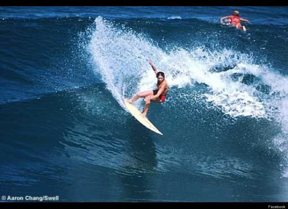 Margo Oberg is a three-time world surfing champion from the United States. She won her first world title in 1977, then won ba