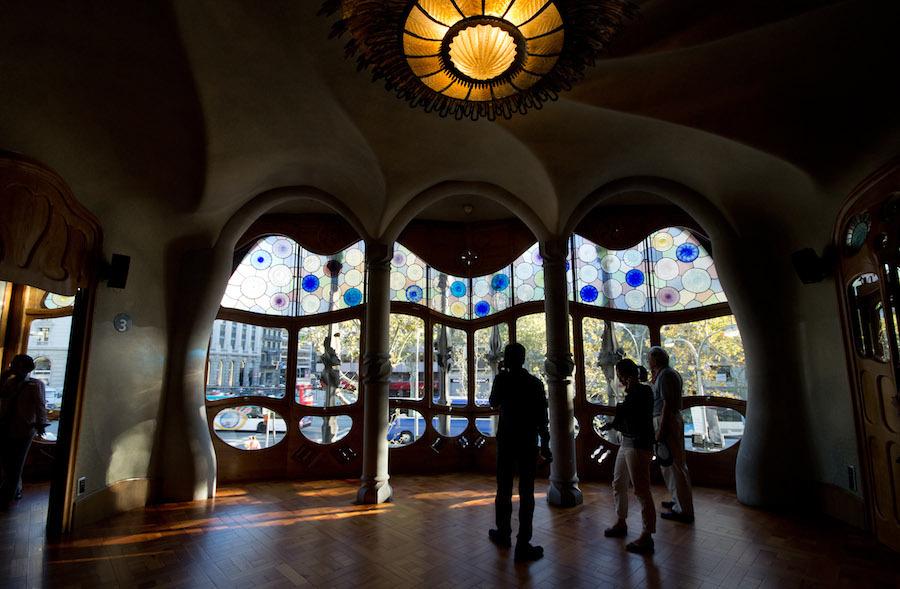 Gaudi's Casa Batllo, Barcelona  -Lynda Hanwella