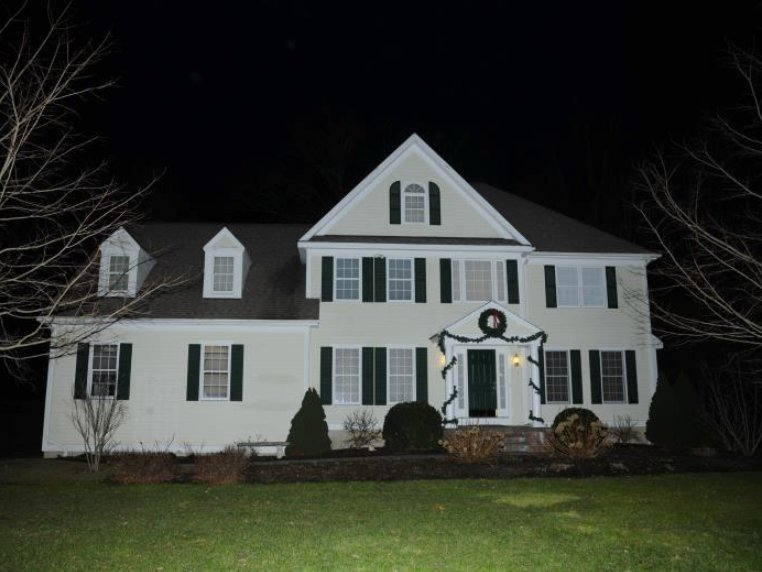 The home where Adam Lanza lived with his mother, Nancy Lanza, before he killed her.