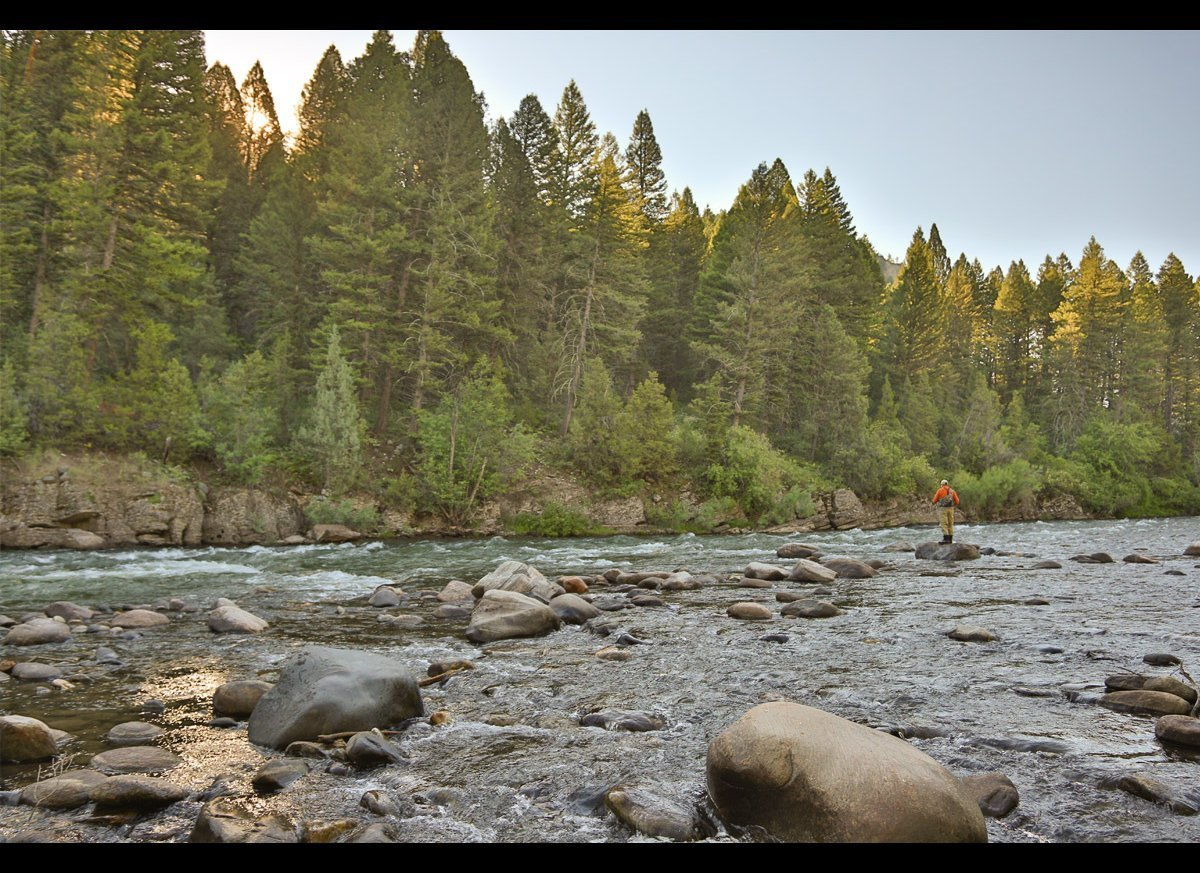 Southwest montana and the rivers that run through it huffpost the gallatin river biocorpaavc Image collections