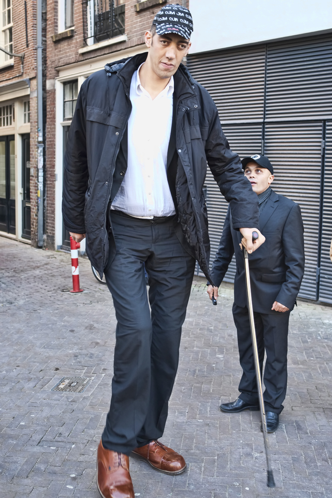 "Last month, <a href=""http://www.huffingtonpost.com/2013/10/29/worlds-tallest-man-married-sultan-kosen_n_4174468.html"" target="
