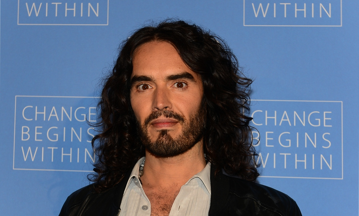 """After watching """"Forks Over Knives,"""" a documentary on rejecting processed food to control common diseases, Russell Brand conve"""