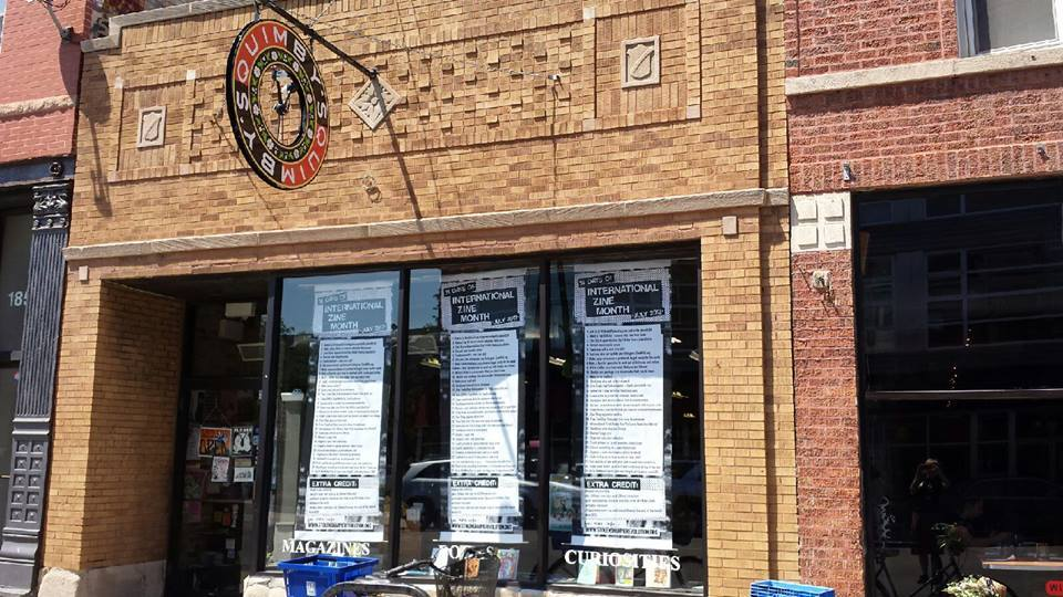 """<em>1854 W. North Ave.</em><a href=""""http://www.quimbys.com/"""" target=""""_blank"""">Quimby's Bookstore </a> is the go-to for zine fa"""