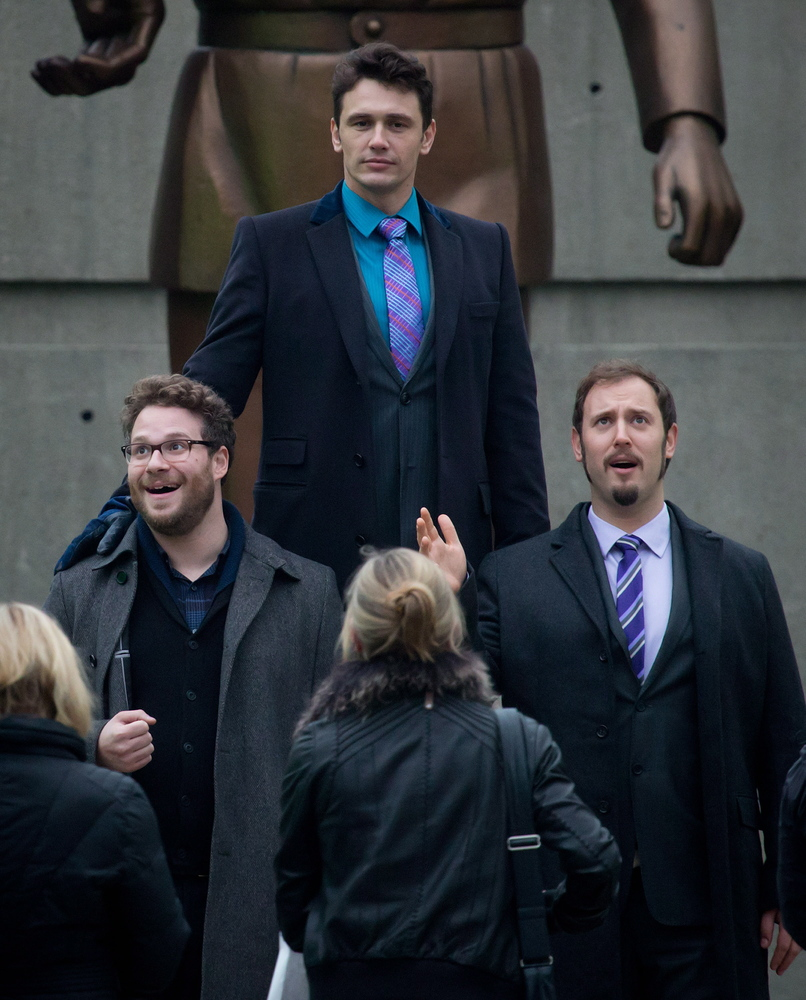 James Franco and Seth Rogen's new movie 'The Interview' is being filmed in Vancouver.