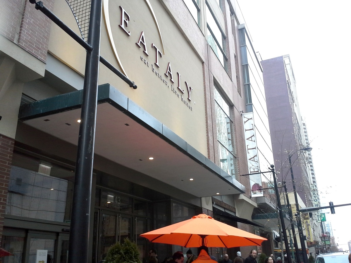 Eataly opened Monday in Chicago.