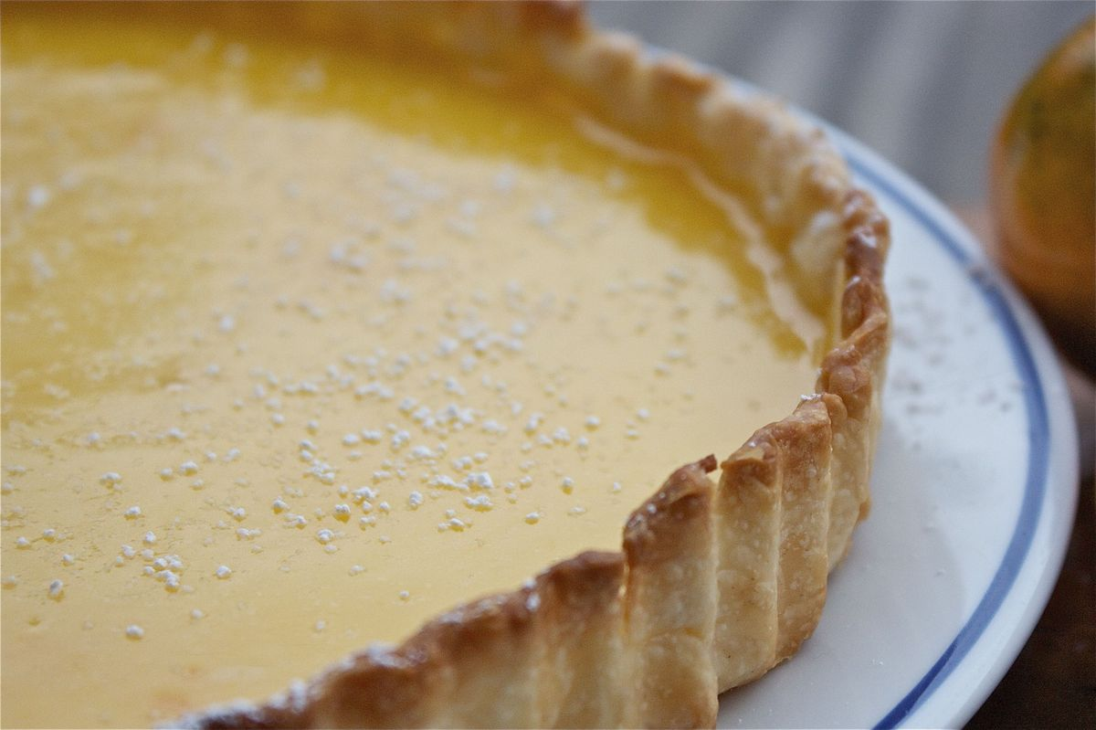 "<strong>Get the <a href=""http://food52.com/recipes/10171-oh-my-darling-clementine-tart"" target=""_blank"">'Oh My Darling, Cleme"