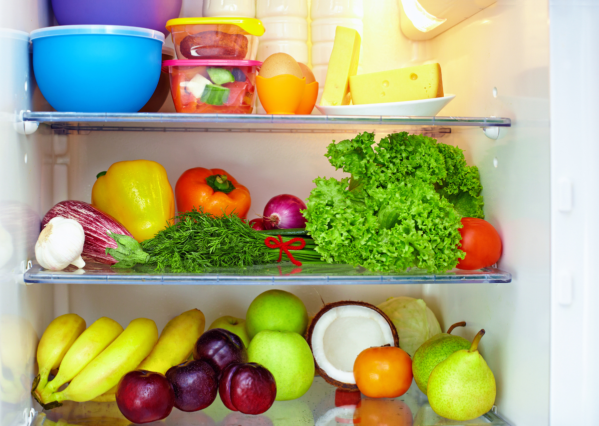Keep your refrigerator at 40 degrees Fahrenheit or below. Bacteria are more likely to grow between 40 and 140 degrees, accord