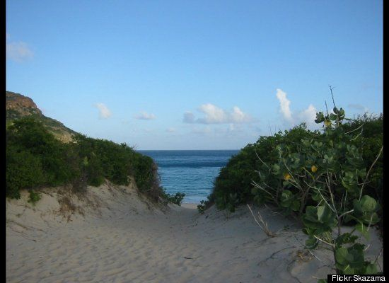Tucked away underneath St. Barth's rocky hillside, feel free to forget everything at St. Barth's most secluded beach. Includi