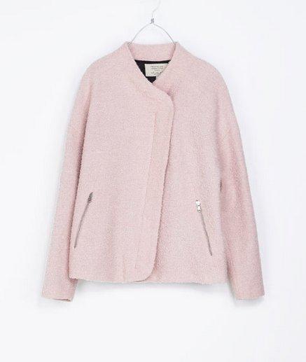 "$99, <a href=""http://www.zara.com/us/en/trf/jackets/wool-cardigan-with-funnel-collar-c269209p1474014.html"" target=""_blank"">Za"