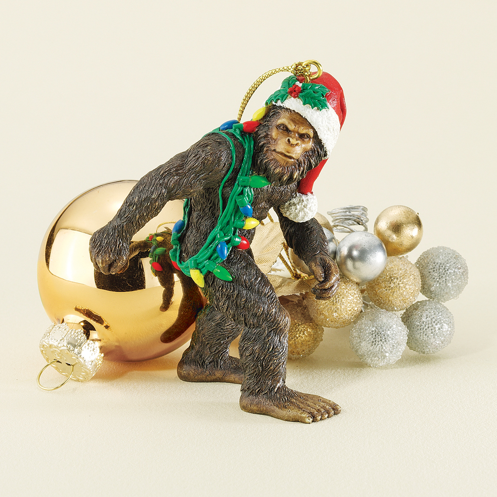 """Bigfoot isn't usually associated with Christmas, but <a href=""""http://www.wayfair.com/Design-Toscano-Bigfoot-the-Holiday-Yeti-"""