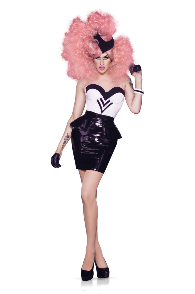 """Hailing from Azusa, CA, this relatively <a href=""""https://twitter.com/AdoreDelano"""" target=""""_blank"""">new queen</a> dominated in"""