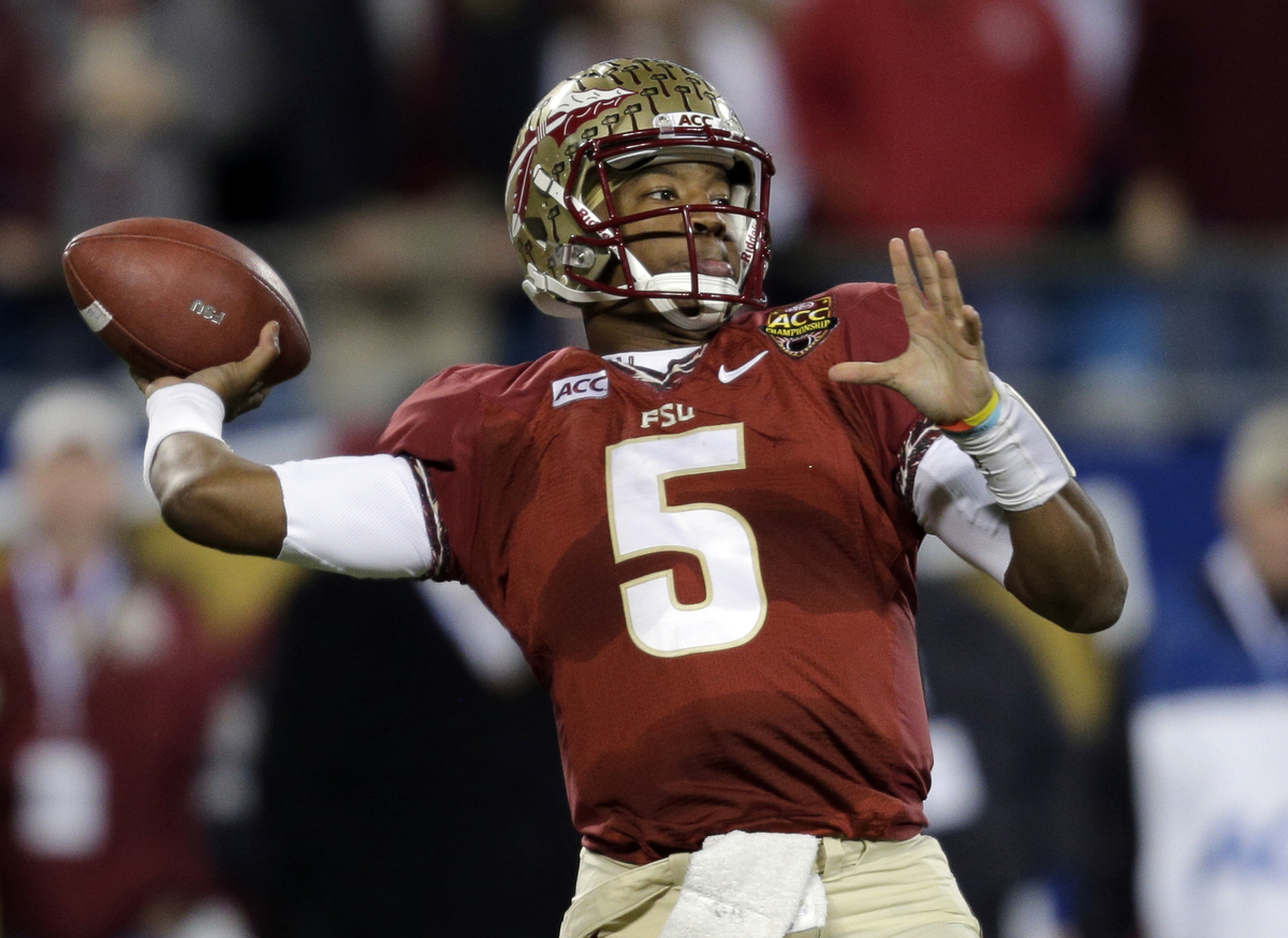 The 19-year-old Florida State quarterback led the Seminoles to an undefeated 13-0 record and a berth in the BCS National Cham