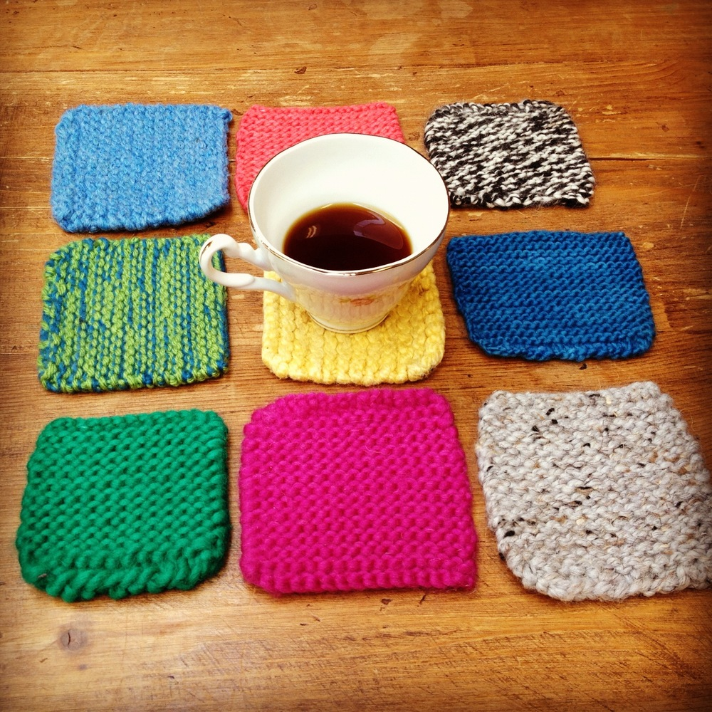 45 awesome diy gift ideas that anyone can do photos huffpost practice knitting squares make for a perfect a hrefhttp solutioingenieria Gallery