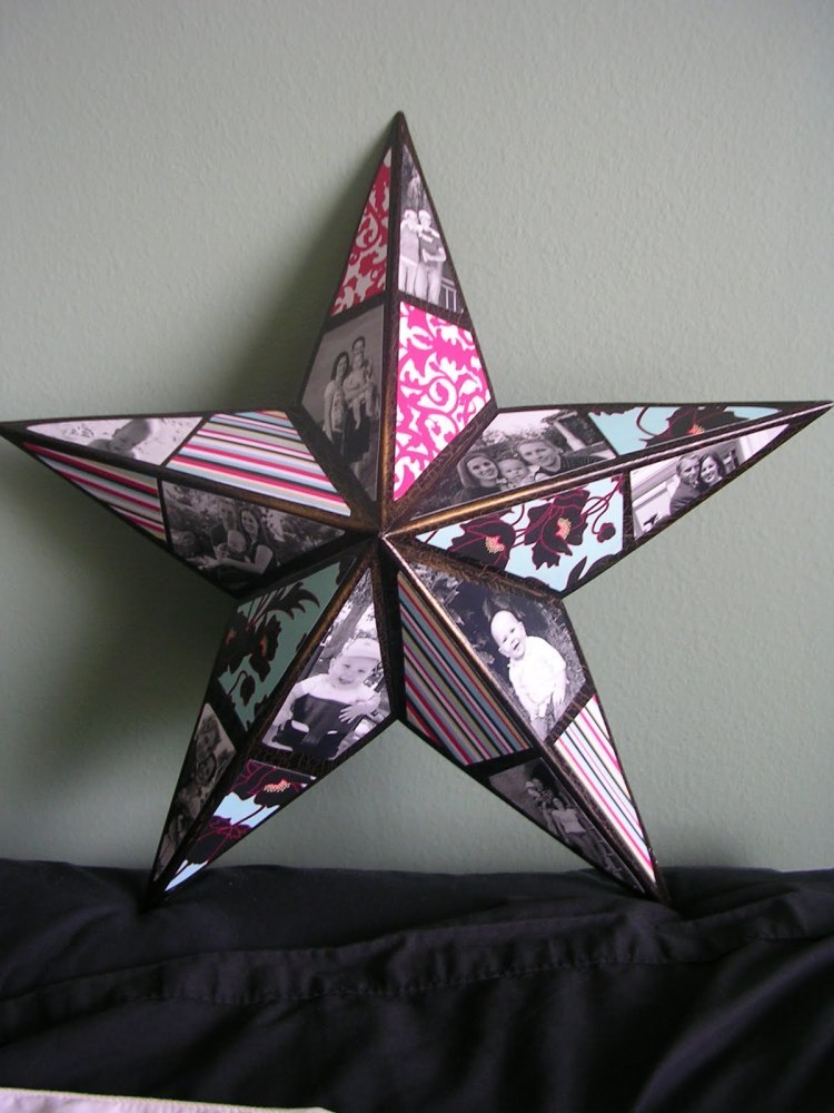"""Make a <a href=""""http://www.huffingtonpost.com/2012/01/24/craft-of-the-day-collage_n_1229244.html?1350335749"""">decorative photo"""
