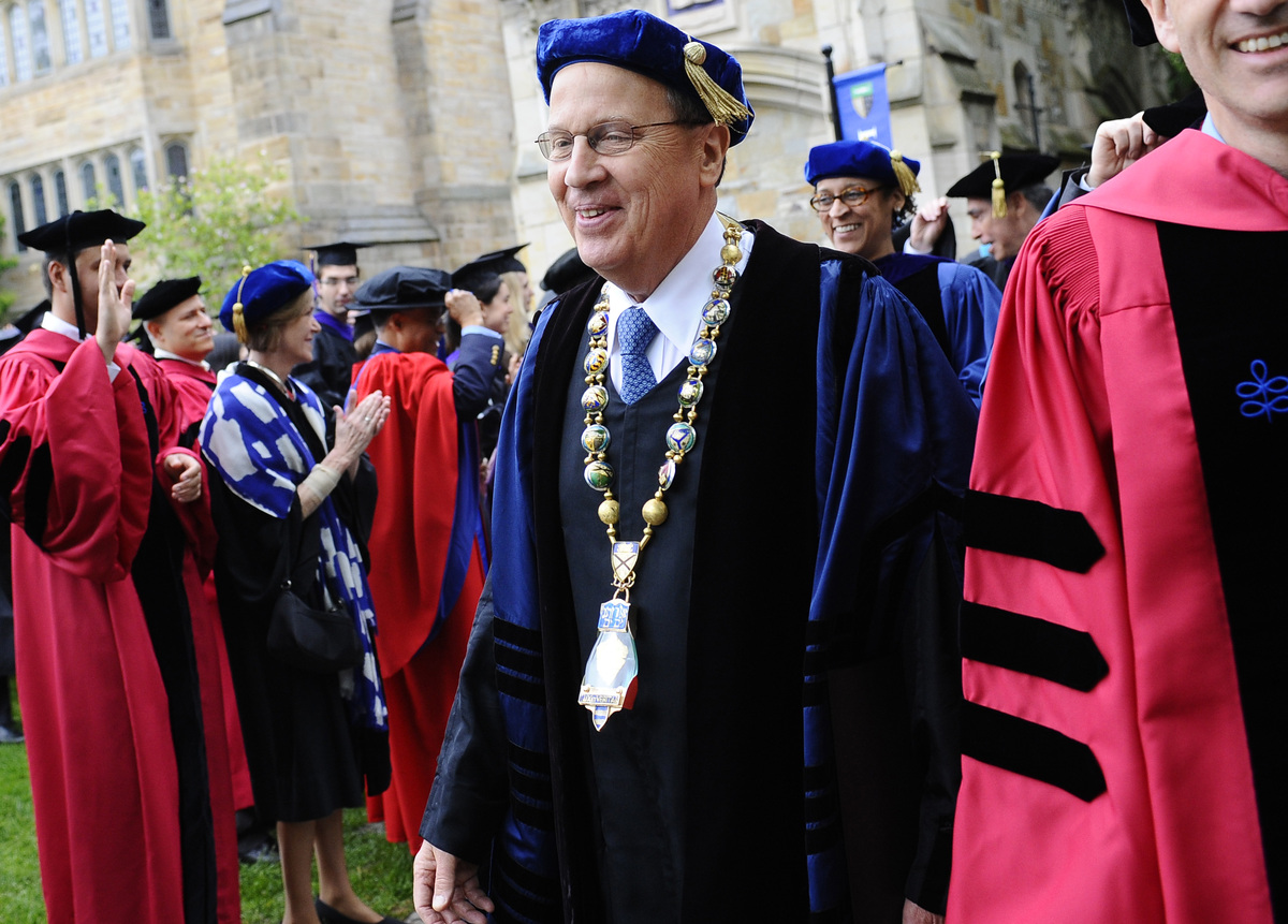 Yale University, $1,652,543  <em>*No longer president</em>