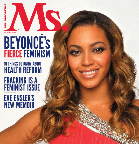"Whether or not you agree with Beyonce's particular brand of feminism, it was pretty exciting to see the <a href=""http://msmag"