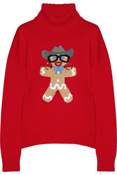This features a gingerbread man with actual metal earrings that hang off the sweater. It's now on sale for $280. What a deal.