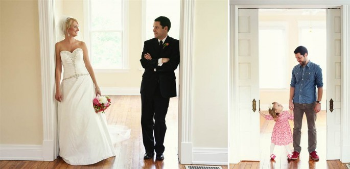 "Widower Reenacts Wedding Photos With Daughter (<a href=""http://www.loft3pd.com/"">Melanie Pace</a>)"