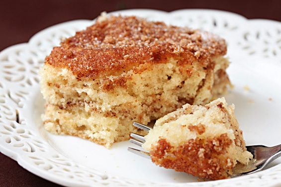 Taste Of Home Cinnamon Sour Cream Coffee Cake