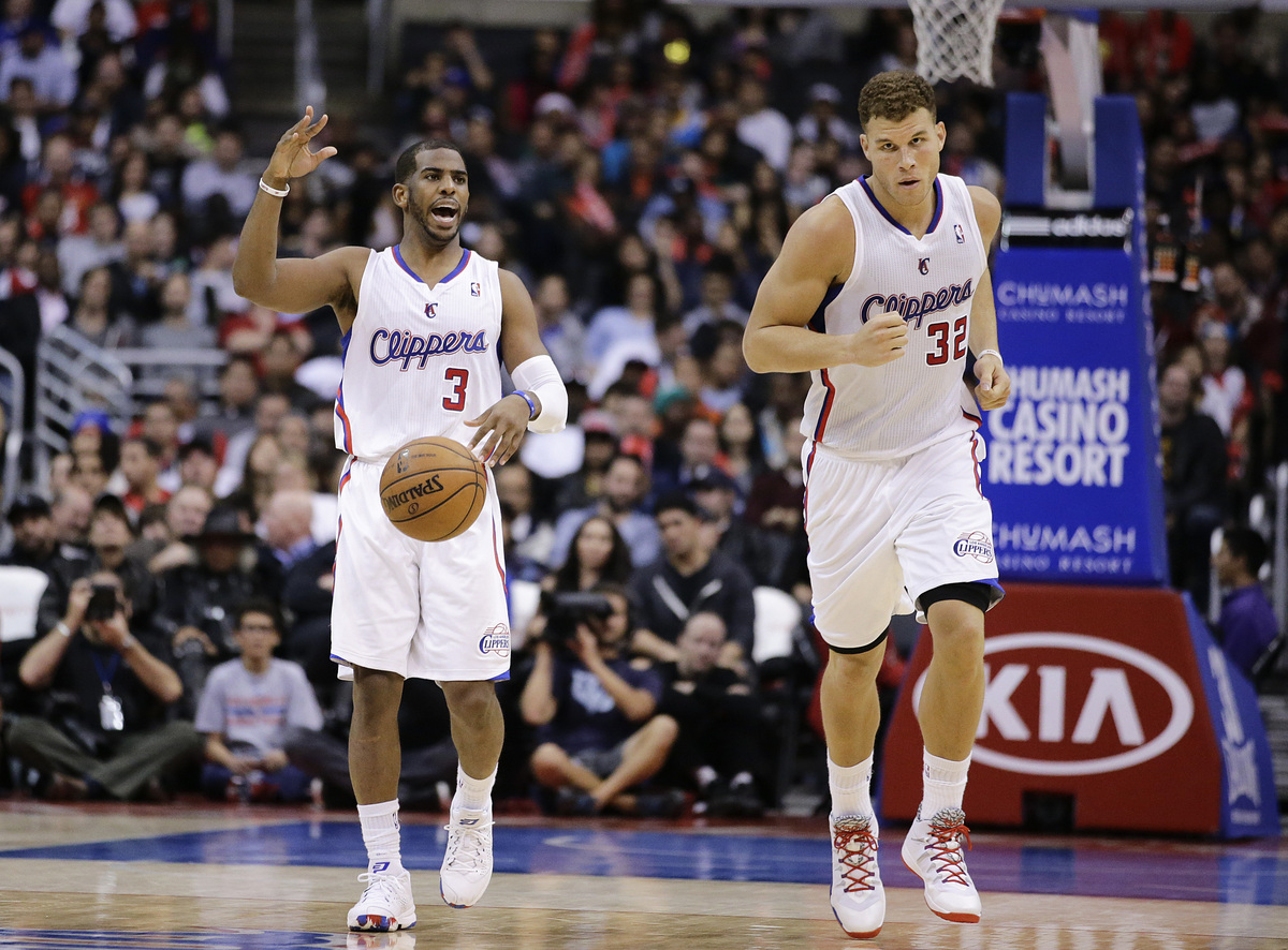 The beauty of Chris Paul (far left) is how he controls a game even when he's not scoring. He has greatly helped forward Blake