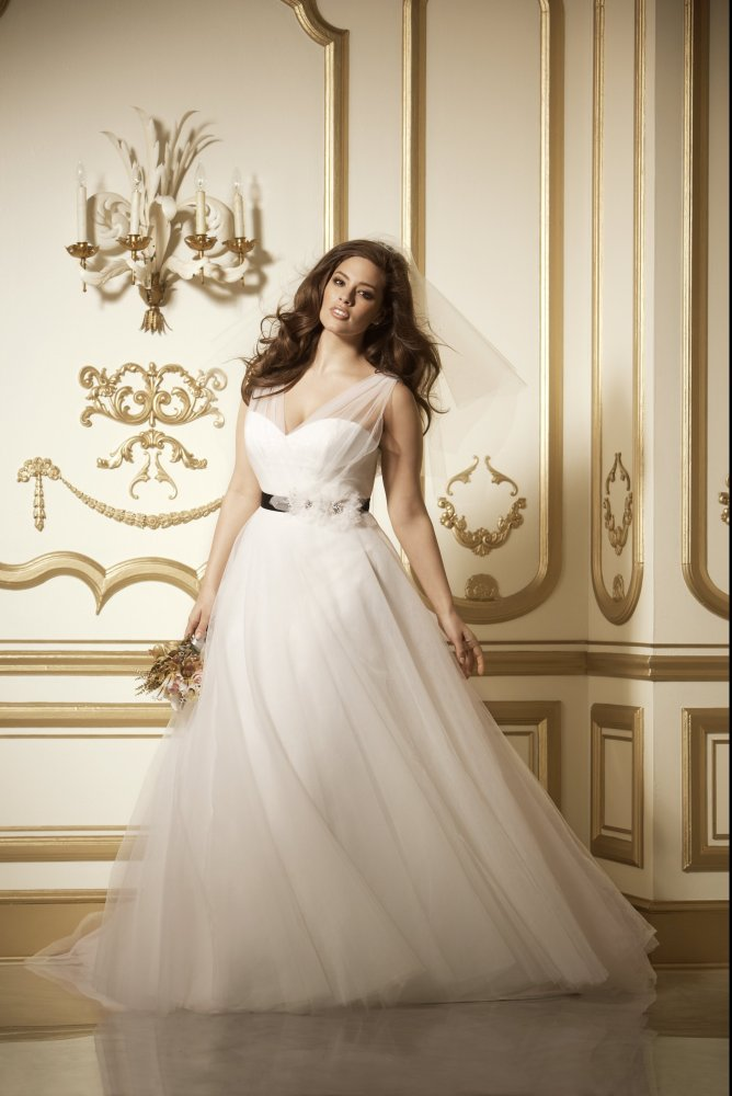 Plus Size Wedding Dress for Bride