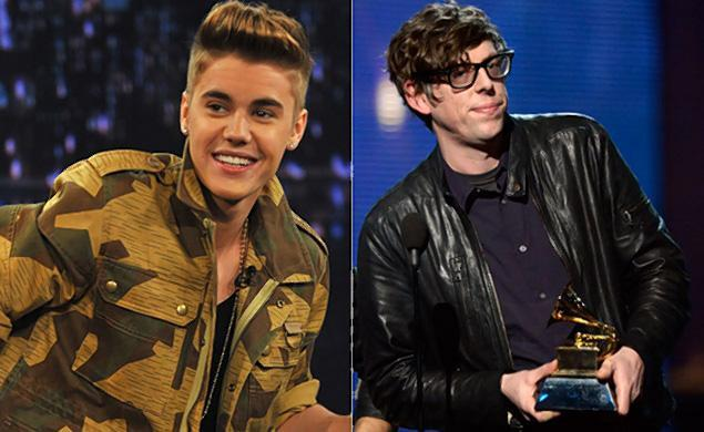 """In an example of saying something you never should, Bieber tweeted that The Black Keys' Patrick Carney should be """"slapped aro"""