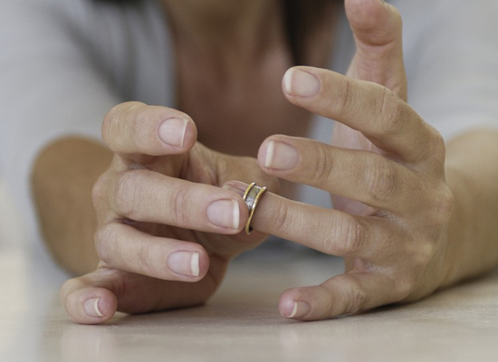 """The number of divorced and separated women in the U.S. is on the rise,<a href=""""http://www.huffingtonpost.com/2013/07/22/divor"""