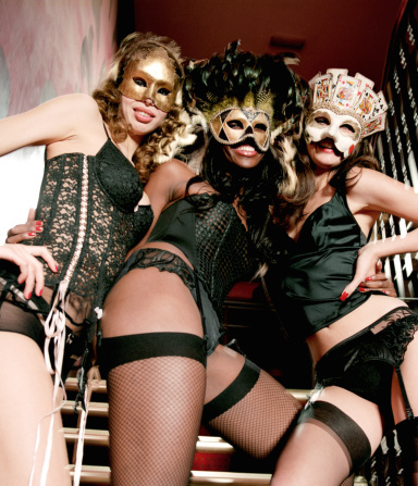"""In the mood for a little """"Eyes Wide Shut"""" action? Then nightclub <a href=""""http://lavony.com/"""" target=""""_blank"""">LAVO's masquera"""