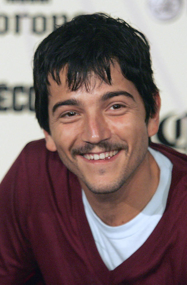 MEXICO CITY, MEXICO: Mexican actor Diego Luna, director of 'JC Chavez', poses during a press conference in Mexico City on May