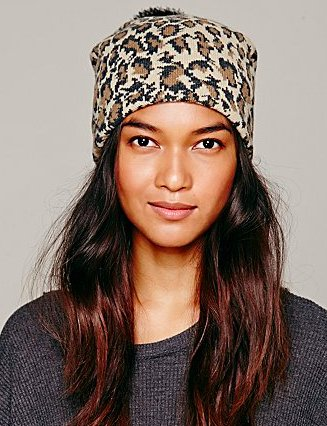 "$19 from $38, <a href=""http://www.freepeople.com/jaquard-print-pom-pom-beanie/_/searchString/hat/QUERYID/52c6de368570a3457300"