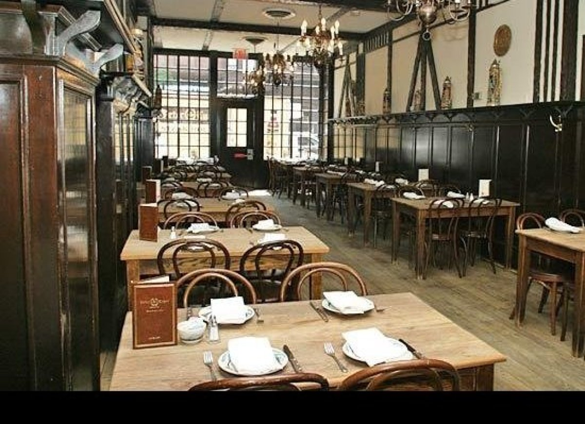 Contrary to popular belief, Peter Luger was not the founder of the legendary steakhouse. It was, rather, his father Carl. Acc