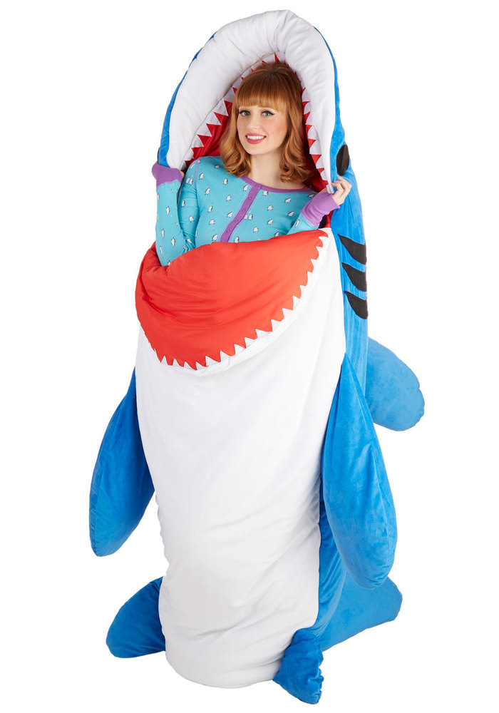 """Does Mom love nature or simply a fan of """"Jaws""""? This <a href=""""www.modcloth.com/shop/furnish-decorate/sea-nic-adventures-sleep"""