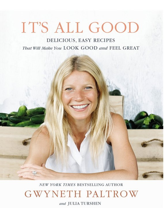 "Gwyneth is probably the first person many people think of when they hear the words ""food"" and ""celebrity."" She's published tw"