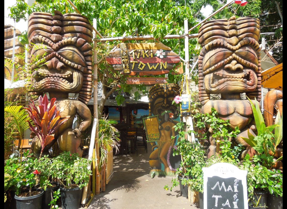It was last call for a Mai Tai at Tiki Town, located within the International Market Place in Waikiki, just weeks before the