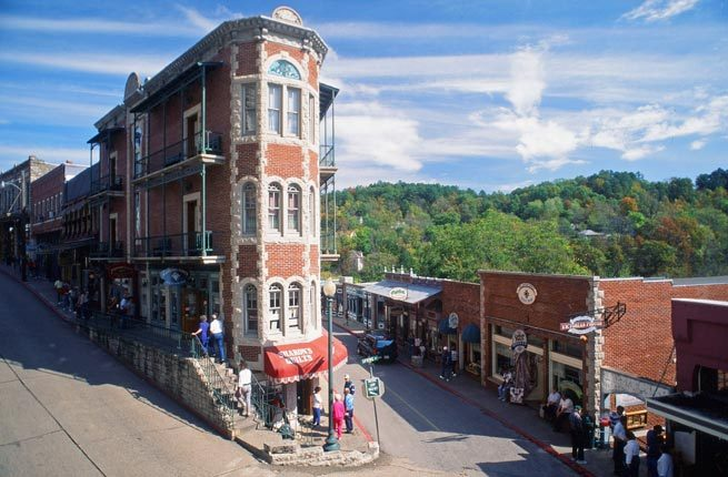 Fun is the name of the game in Eureka Springs. The vibrant Southern town features colorful nightlife, charming Victorian buil