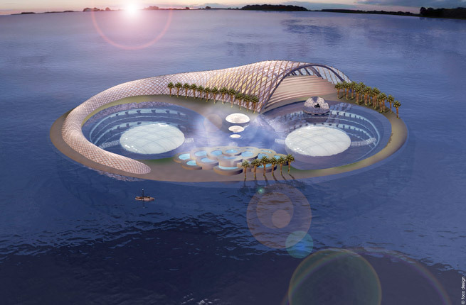 Where Dubai UAE Would They Build The Most Ambitious Luxury Hotel Under Waves Of Course Emirate That Brought You A Man Made Island