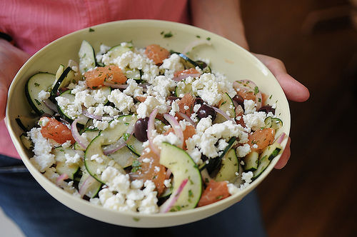 "<strong>Get the <a href=""http://food52.com/recipes/127-red-grapefruit-feta-and-mint-salad"" target=""_blank"">Red Grapefruit, Fe"