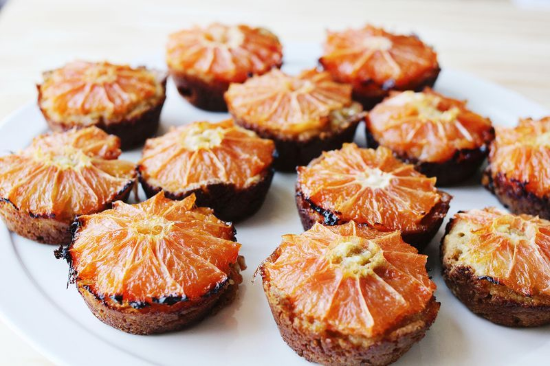"<strong>Get the <a href=""http://www.abeautifulmess.com/2013/04/grapefruit-and-brown-sugar-muffins.html"" target=""_blank"">Grape"