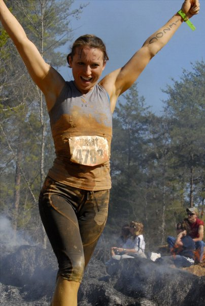 """""""I signed up for my first race, a half marathon, months after my husband left.  Running events became a constant in my post-d"""