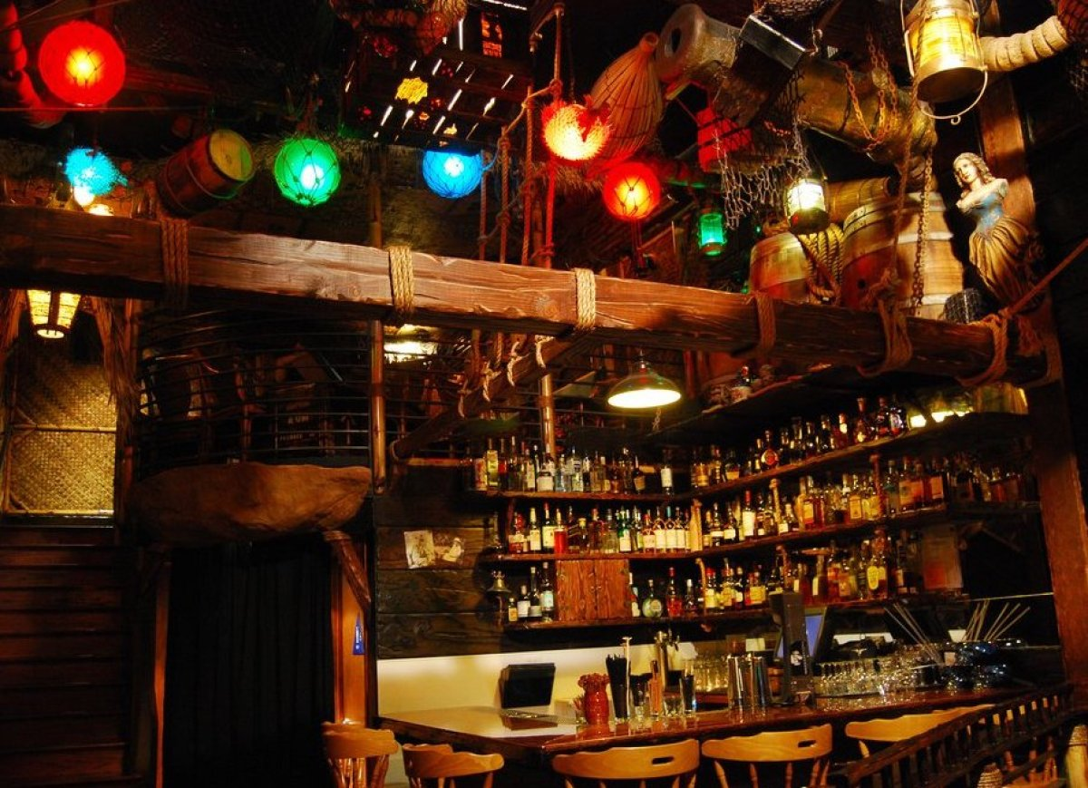 """<strong>See More of the <a href=""""http://www.foodandwine.com/slideshows/best-tiki-bars#!slide=5"""">Best Tiki Bars in the U.S.</a"""