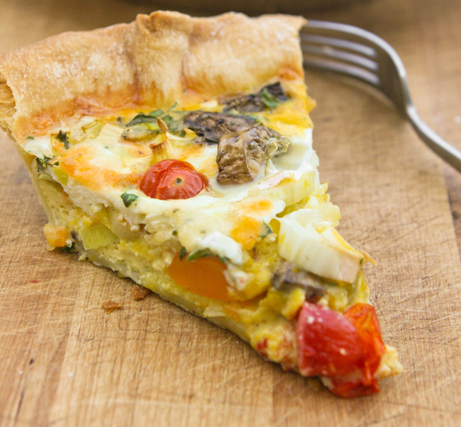 "<strong>Get the <a href=""http://www.pipandebby.com/pip-ebby/2012/5/11/leek-tomato-mushroom-quiche.html"">Leek, Tomato and Mush"