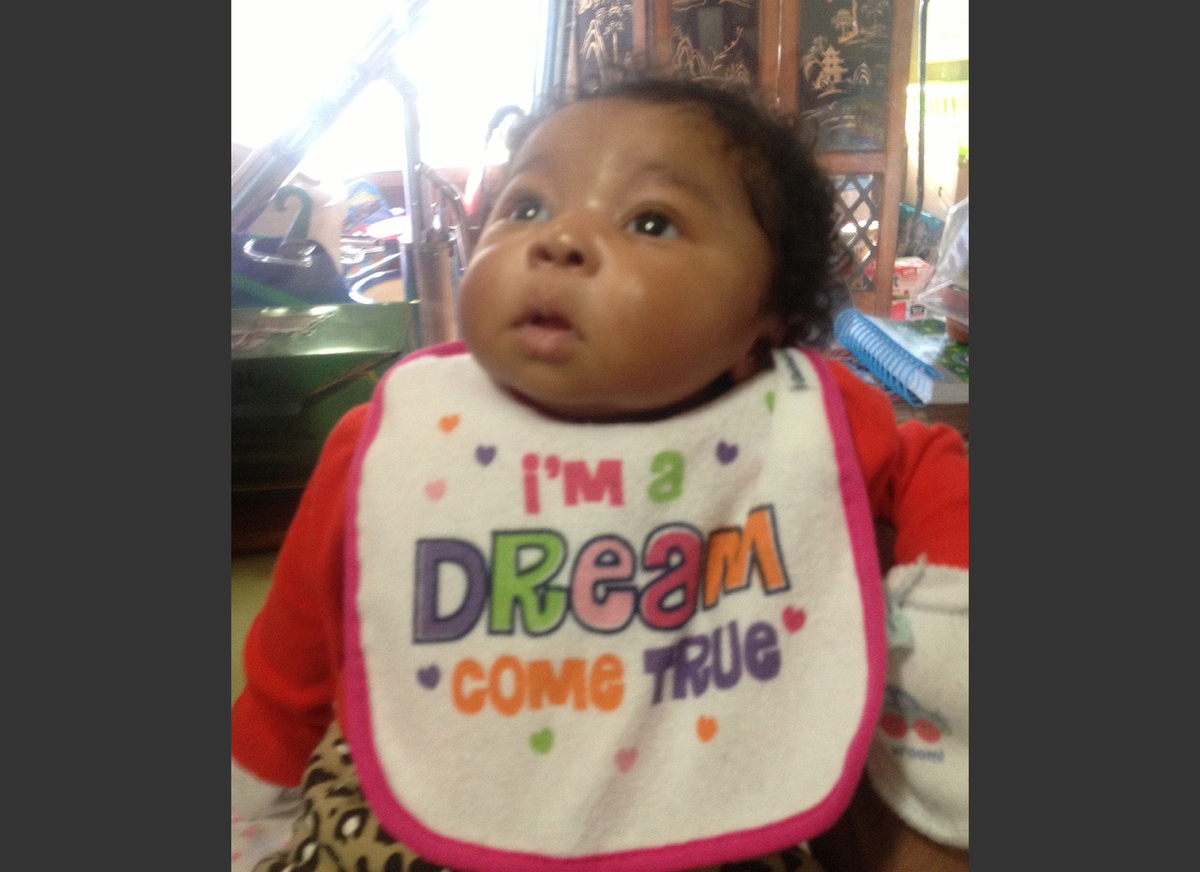 FILE - This undated file photo provided by the Memphis Police Department shows 7-week-old Aniston Walker of Memphis, Tenn. Po