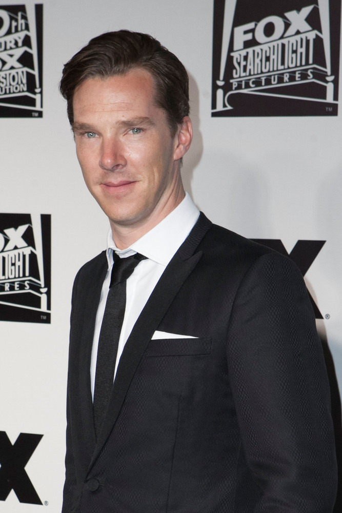 BEVERLY HILLS, CA - JANUARY 12:  Benedict Cumberbatch arrives for Fox And FX's 2014 Golden Globe Awards Party - Arrivals on J