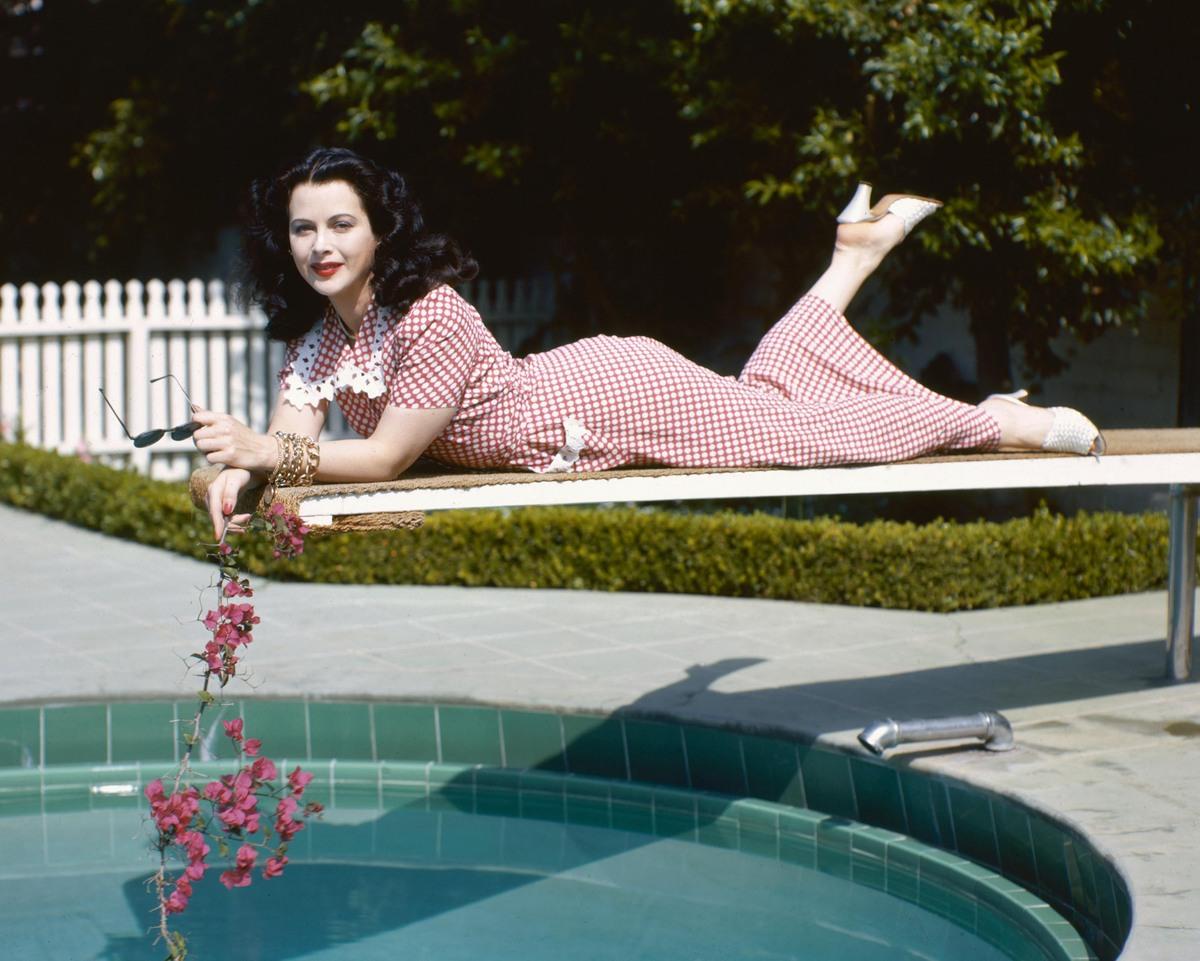 Hedy Lamarr in 1945.