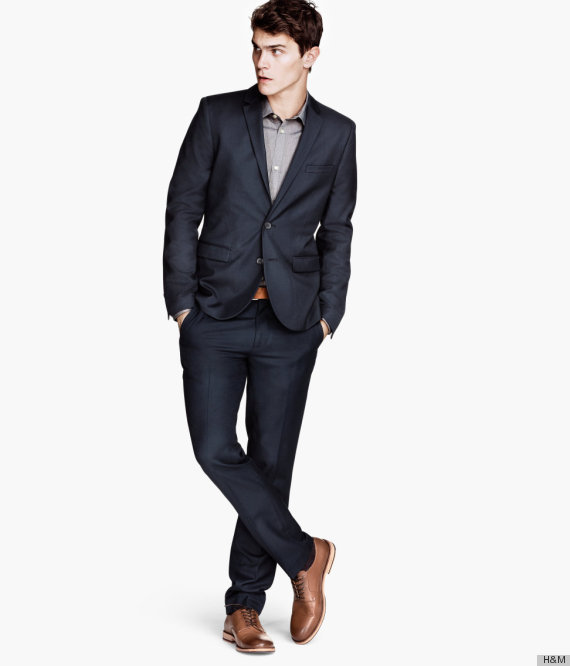 Wear it to the office, to evening events, to family gatherings, to weddings... basically, a dark suit will take you everywher