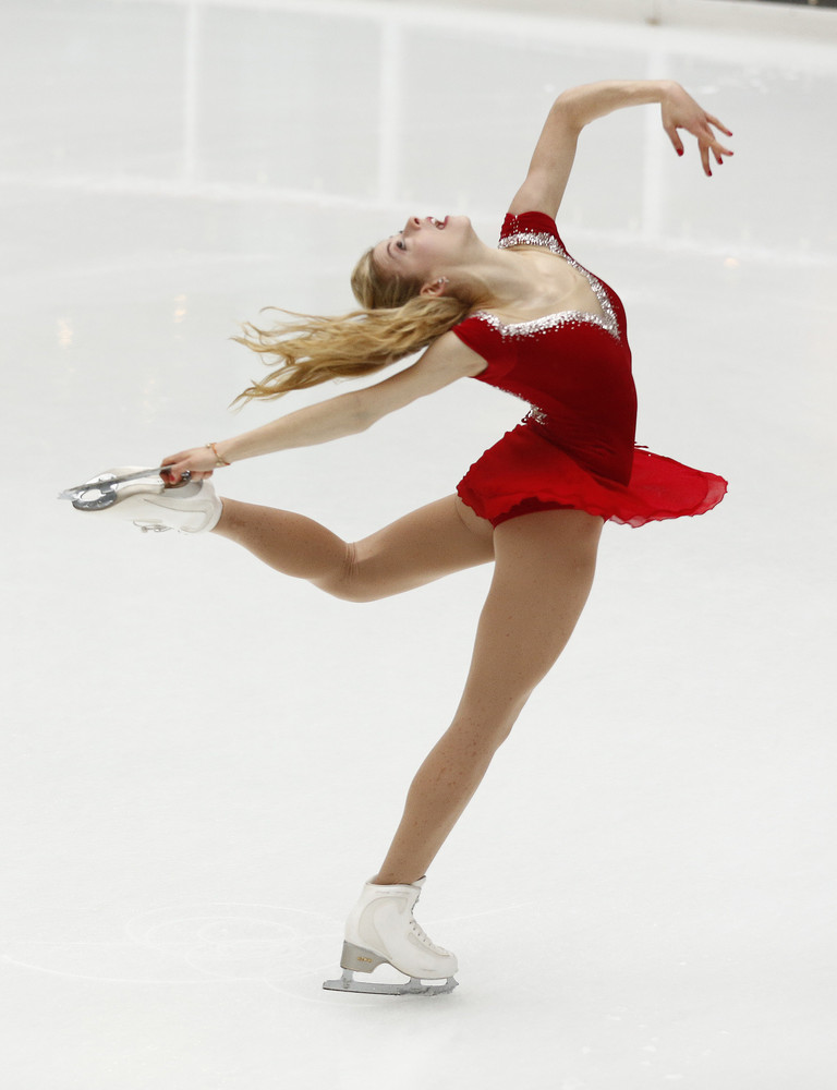 18-year-old Gold won her first title at the U.S. Figure Skating Championships on Jan. 12, and is expected to live up to her l