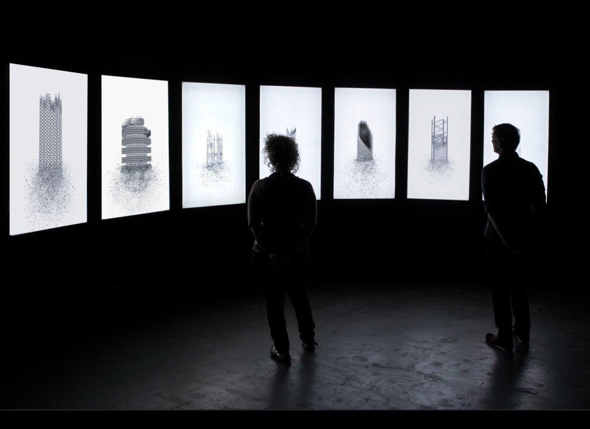 <em>Installation Shot of Aziz + Cucher's Time of the Empress at The Screening Room Miami </em><em>Courtesy of the Artists</e