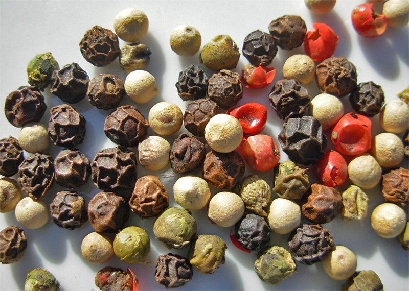 If all you know about pepper is the stuff that comes out of a shaker, just stop. Put down the ground black pepper -- that stu