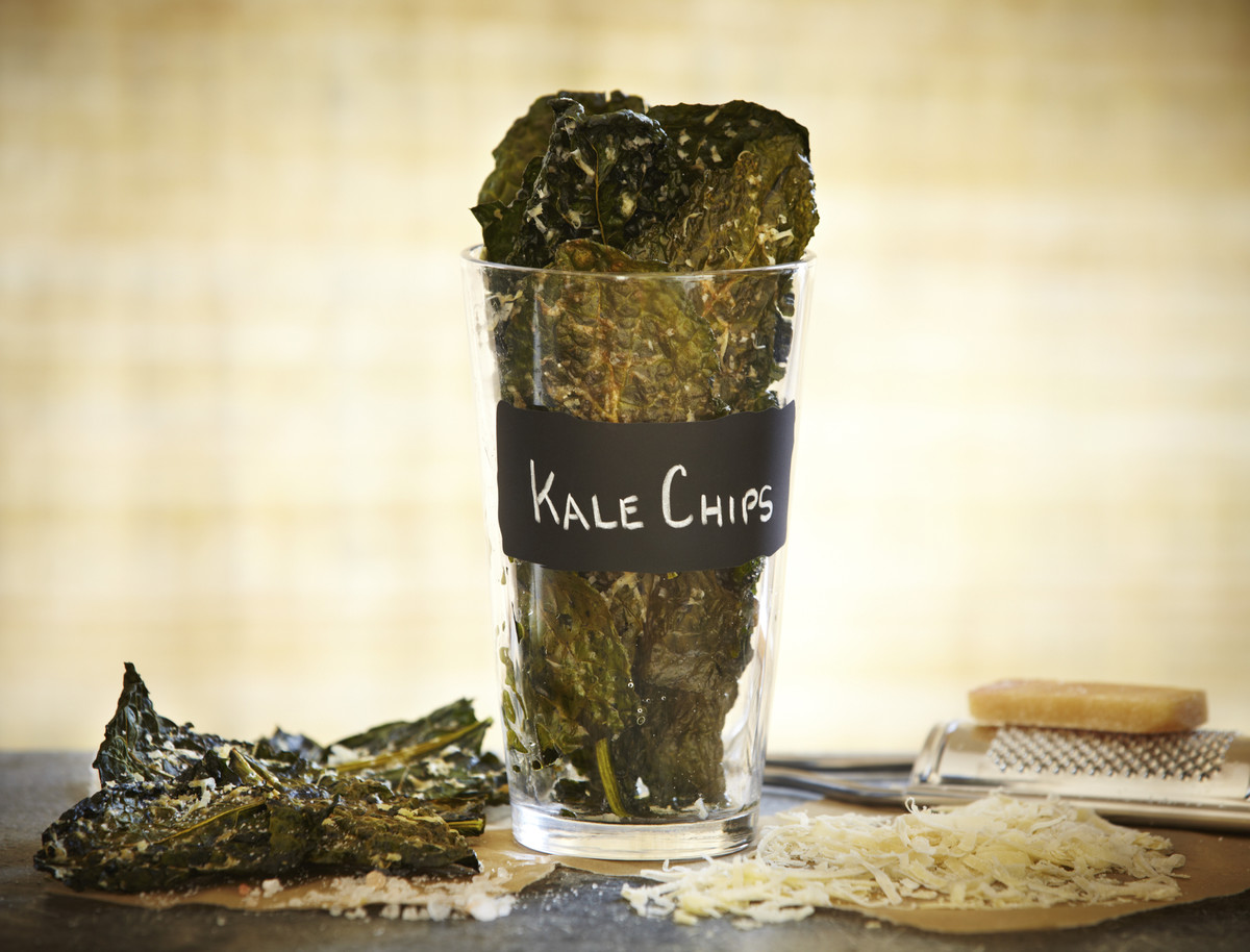 Chips are a requirement. Kale is exactly the opposite.